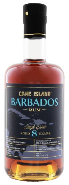 Cane Island 8 Jahre Barbados Single Estate Rum