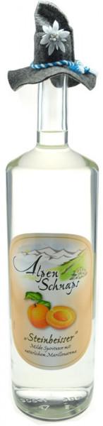 Alpenschnaps Steinbeisser Marille Großflasche Obstbrand