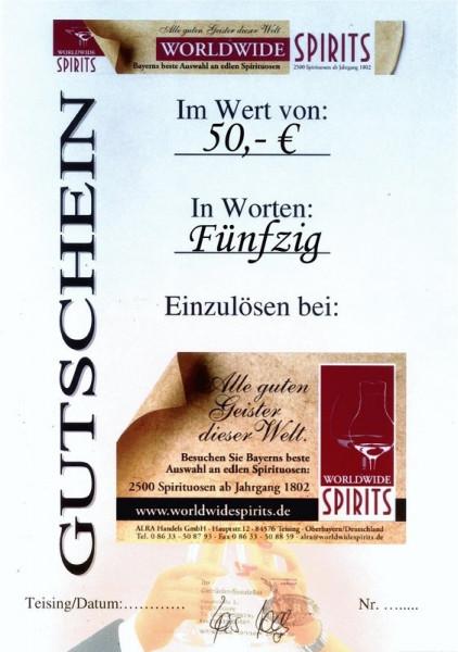 Gutschein über 50,00 Euro