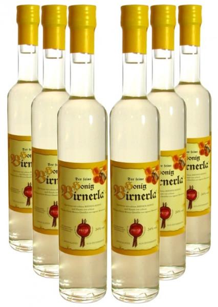 6 Flaschen Prinz Honig Birnerla ( Birnenschnaps mit Honig ) 0,5l - aus Österreich