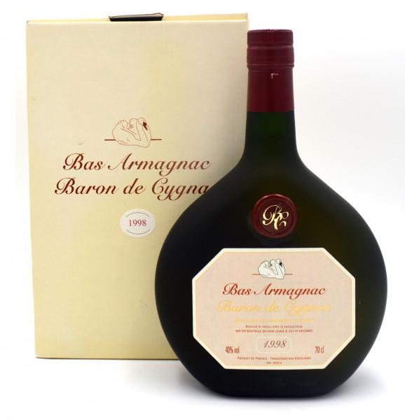 Armagnac Baron de Cygnac Jahrgang 1998