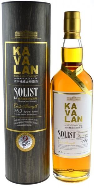 KaVaLan Solist Ex-Bourbon Cask - Single Cask Strenght