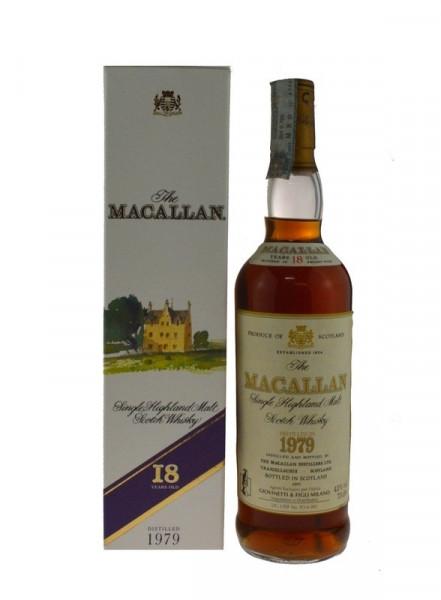 Macallan Jahrgang 1979 - 18 Jahre alt - abgefüllt 1997