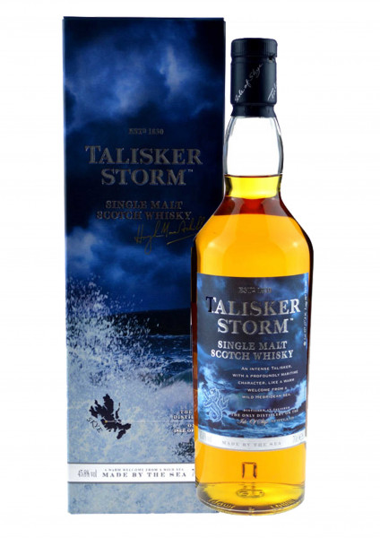 Talisker Storm 0,7l - 45,8% vol. mit Geschenkkarton - Single Malt Scotch Whisky