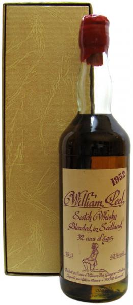 William Peel Blended Scotch Whisky Jahrgang 1952 incl. Geschenkbox (siehe zusätzliche Artikelbeschre