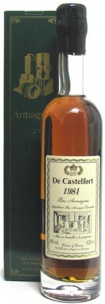 Armagnac De Castelfort Jahrgang 1981