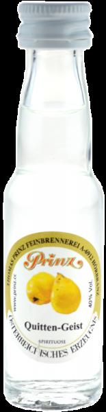 Prinz Quitten-Geist 0,02l Miniatur - Spirituose aus Österreich