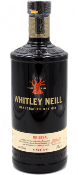 Whitley Neill Handcrafted Dry Gin Small Batch 0,7l