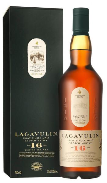 Lagavulin Whisky 16 Jahre 0,7l Originalabfüllung