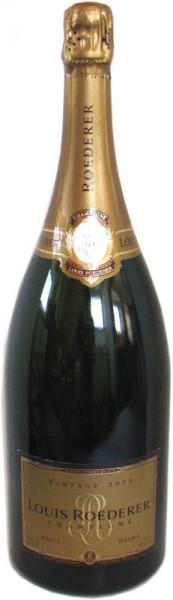 Louis Roederer Champagner Magnumflasche