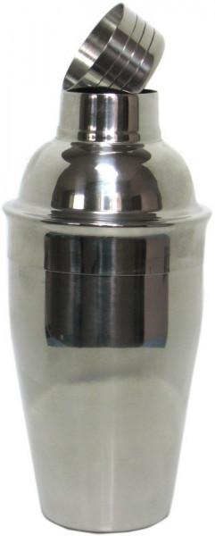 Cocktail-Shaker basic aus Edelstahl