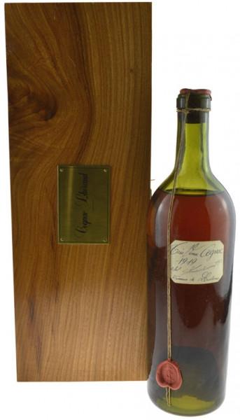 Lheraud Cognac 0,7l Jahrgang 1919 Très Vieux - Domaine de Lasdoux 44,0% inkl. Holzkassette