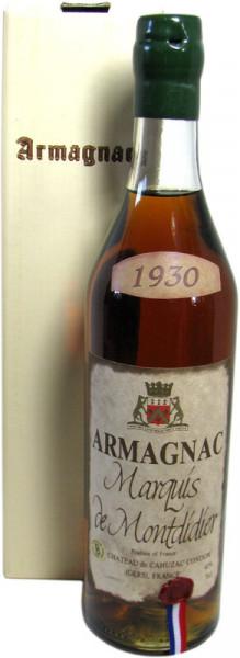 Marquis de Montdidier Jahrgang 1930 Armagnac