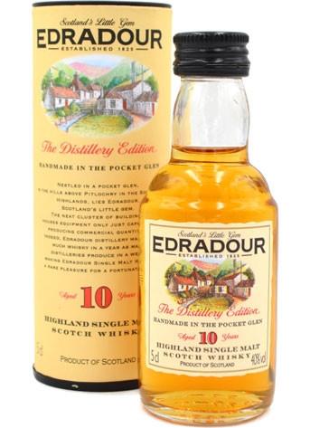 Edradour Whisky 10 Jahre Miniatur