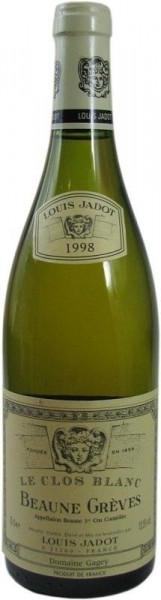 Beaune Gréves Le Clos Blanc 1998 Weißwein