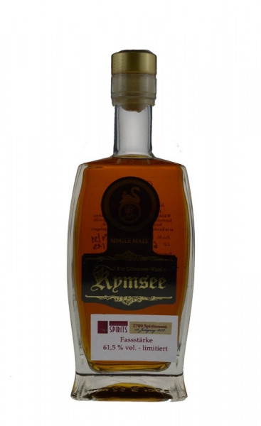 Kymsee Single Malt Whisky 0,5l Fass Nr. 6 Sonderabfüllung 20 Jahre ALRA