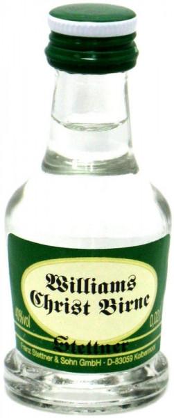 Stettner Williams Christ Birne Obstbrand Miniatur