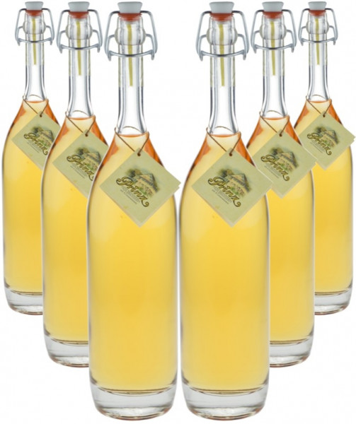 6 Flaschen Prinz Alte Haselnuss 0,5l in Bügelflasche - im Holzfass gereift aus Österreich