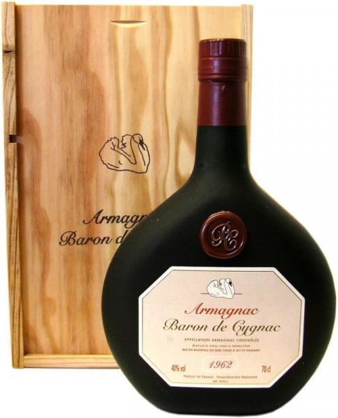 Armagnac Baron de Cygnac Jahrgang 1962