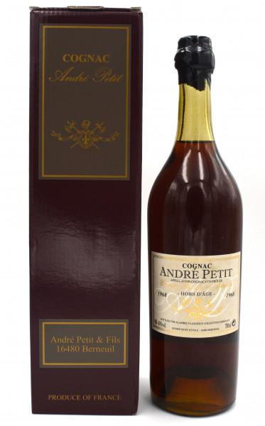 Andre Petit Cognac Jahrgang 1968 Alambic Classique