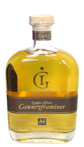 Grappa Giare Affinata Gewürztraminer 0,7l - Destillerie Marzadro
