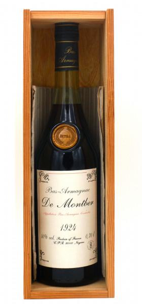 Armagnac De Montber 1924 Bas-Armagnac