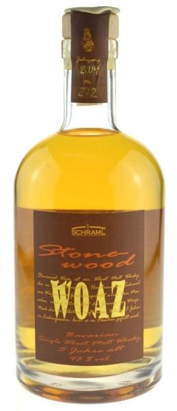 Schraml Stonewood Woaz Jahrgang 2009 Bavarian Single Wheat Malt Whisky
