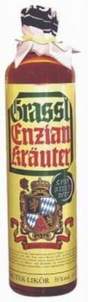 Grassl Enzian Kräuter Likör