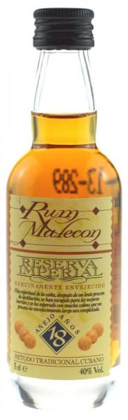 Malecon Reserva Imperial Rum 18 Jahre Miniatur