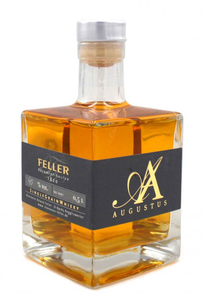 Feller Augustus Single Grain Whisky 0,5l von der Brennerei Feller