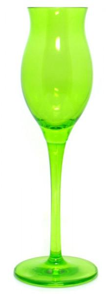 Ziegler Kvlt grünes Ritzenhoff Obstbrandglas