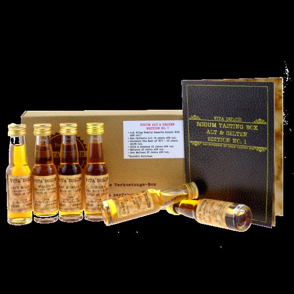 Vita Dulcis Tasting Box R(h)um Nr. 3: alt & selten 6x0,02l
