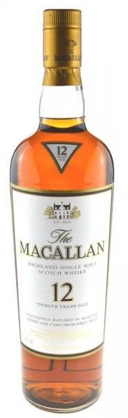 The Macallan Whisky 12 Jahre Sherry Oak Grossflasche
