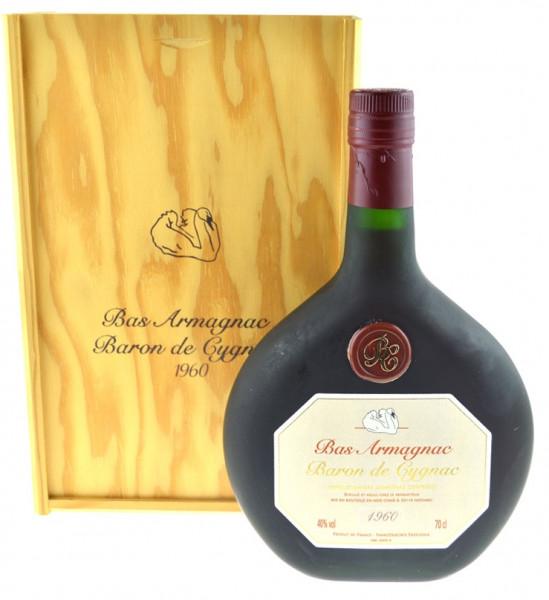 Armagnac Baron de Cygnac Jahrgang 1960 - 0,7l