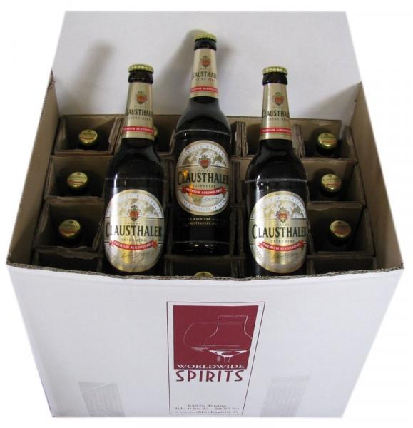 Clausthaler Extra Herb Alkoholfreies Bier 20x0,5l