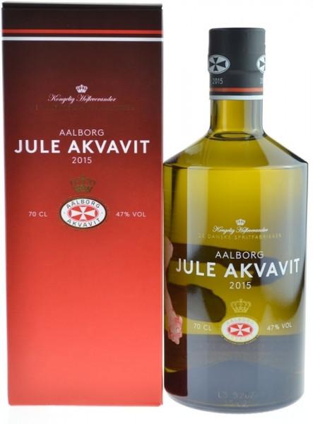 Aalborg Jule Akvavit Jahrgang 2015 Sonderabfüllung