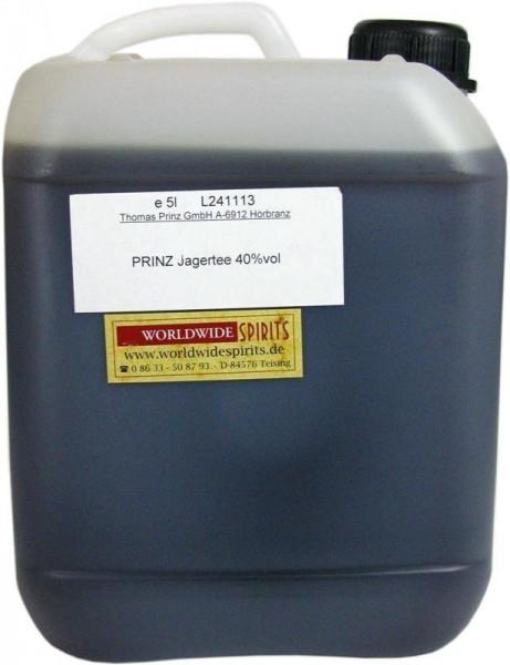 Prinz Jager-Tee 40% vol. 5 Liter Kanister - Original Jagatee aus Österreich