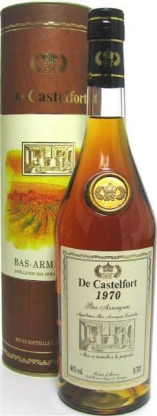 Armagnac De Castelfort Jahrgang 1970 - abgefüllt im Jahr 2014 - 43 Jahre im Fass gelagert