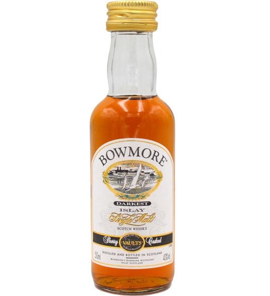 Bowmore Whisky Darkest Miniatur