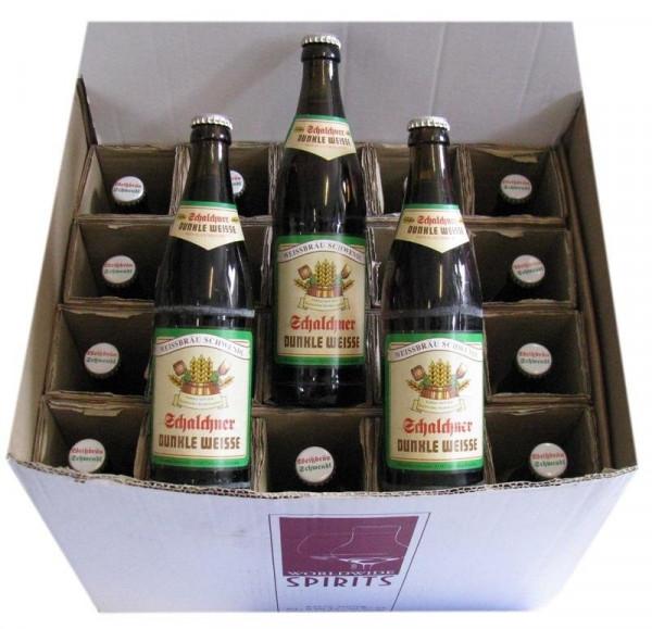 Schalchner Weisse Bier dunkel 20x0,5l