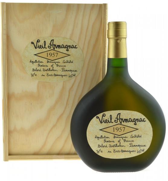 Vieil Armagnac Delord 0,7l Jahrgang 1957 Bas-Armagnac