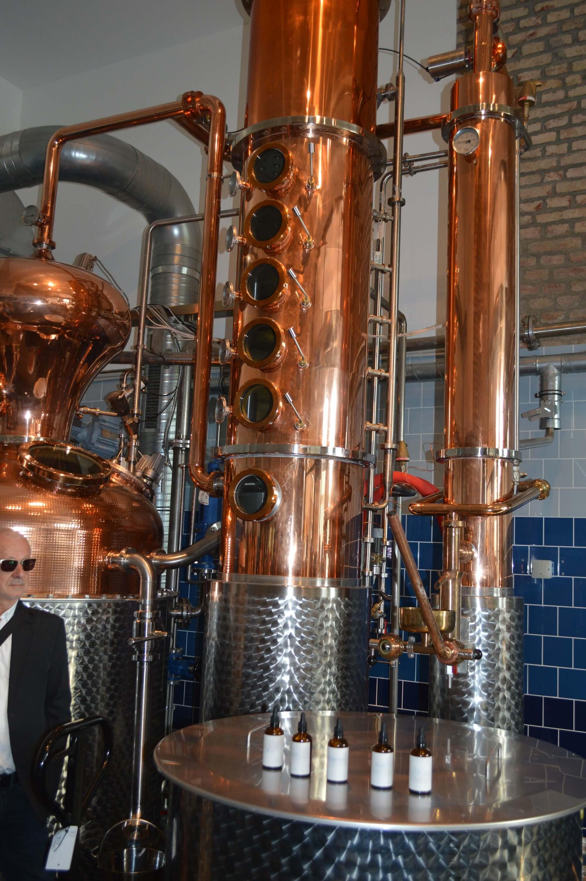 Destillations-Kolonnen
