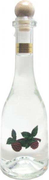 Prinz Himbeergeist 0,5l Spirituose aus Österreich in Rustikaflasche mit Himbeeren-Fruchtmotiv