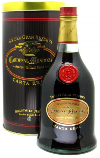 Cardenal Mendoza Brandy Carta Real