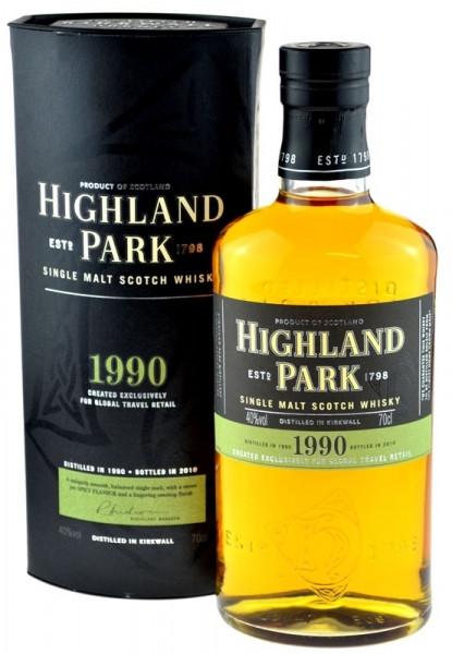 Highland Park Jahrgang 1990 abgefüllt 2010