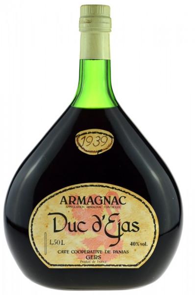Armagnac Duc d' Ejas 1,5l Grossflasche Jahrgang 1939