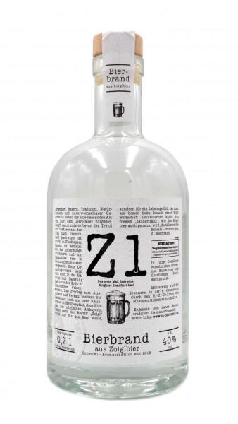 Schraml Zoigl Brand 0,7l - Bierbrand aus süffigem Zoiglbier