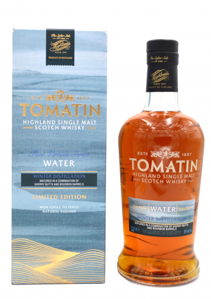 Tomatin Five Virtues Water