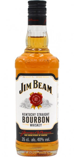 Jim Beam Kentucky Straight Bourbon Whiskey 0,35l