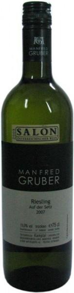 Gruber Riesling Auf der Setz Qualitätswein